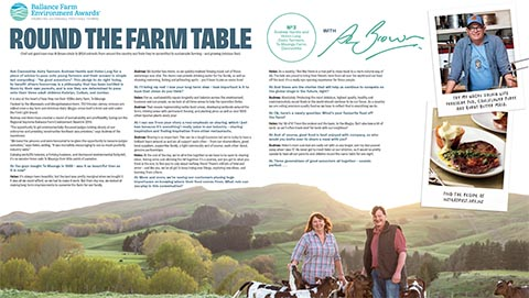 Round the farm table - The Hardie-Longs