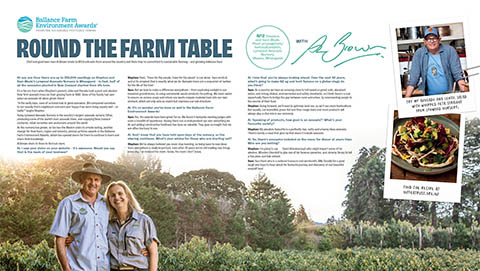 Round the Farm Table - the wades
